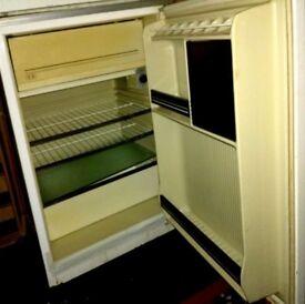 Fridge with ice box