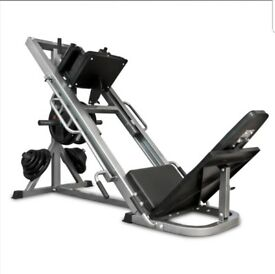 Body max leg press / hack squat plus weight