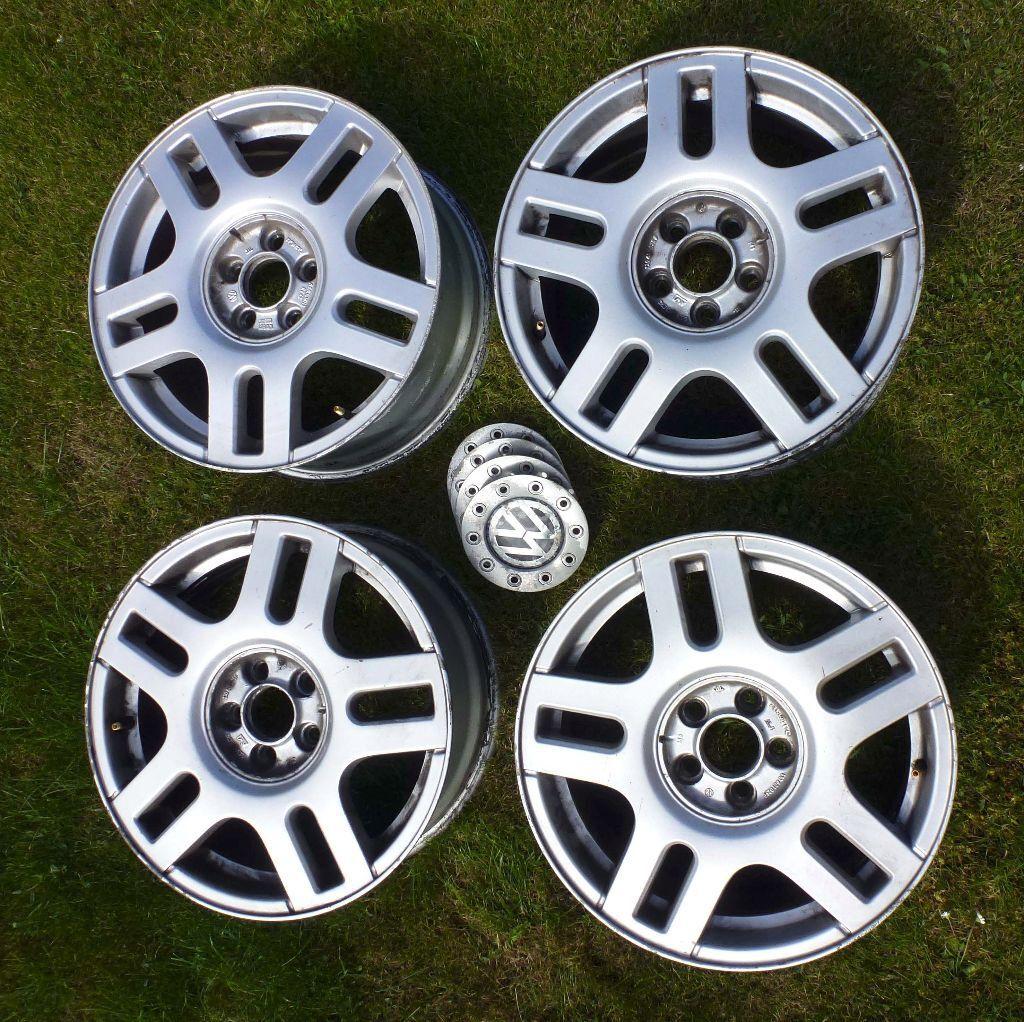 Vw Golf Mk4 16 Quot Alloy Wheels 6 5j16 In Somerset Gumtree