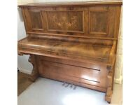 Stunning 1920's Laurent upright piano PX to clear - DELIVERY AVAILABLE