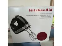 Kitchen aid Hand Mixer Red Brand new with Warranty
