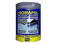 Cromapol 5kg Acrylic Waterproofing - White