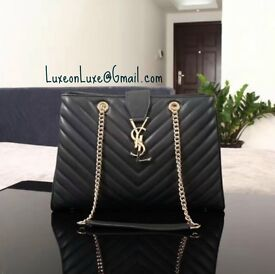 Large YSL Monogram Bag