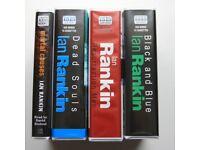 Ian Rankin (Rebus) audio books x 4