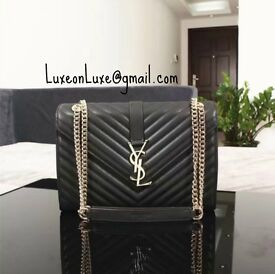 YSL Quilted Single Flap Bag