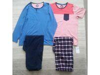 Teenage boys M&S pyjamas (2 pairs)