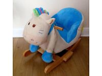 Rocking horse with backrest. Baby Rocker. Free delivery in Mitcham etc. area. From Kiddicare