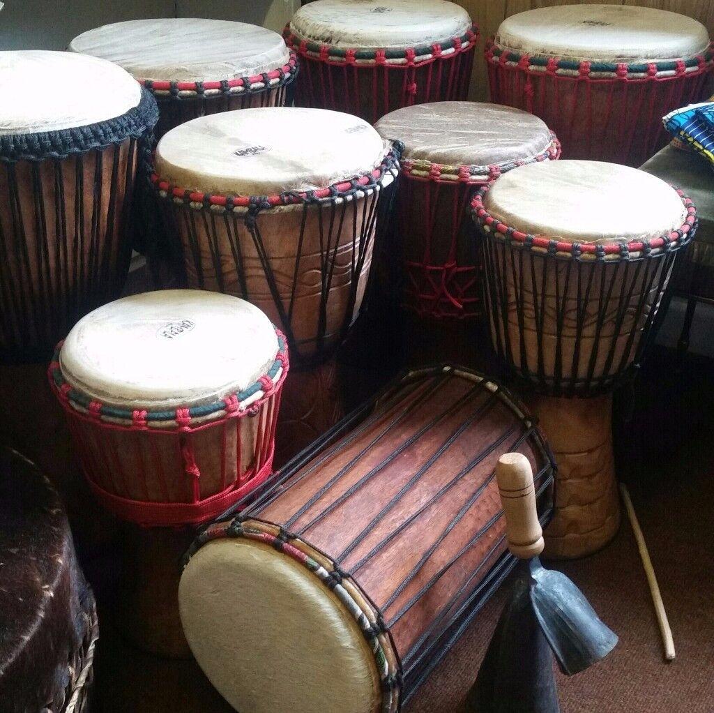 African drumming classes/African drumming in Nottingham/African drumming workshop