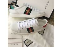 GUCCI ACE STYLE TRAINERS UK 3 BRAND NEW