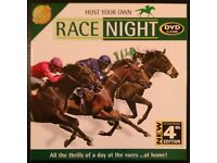 'Race Night: 4th Edition' DVD Board Game (new)