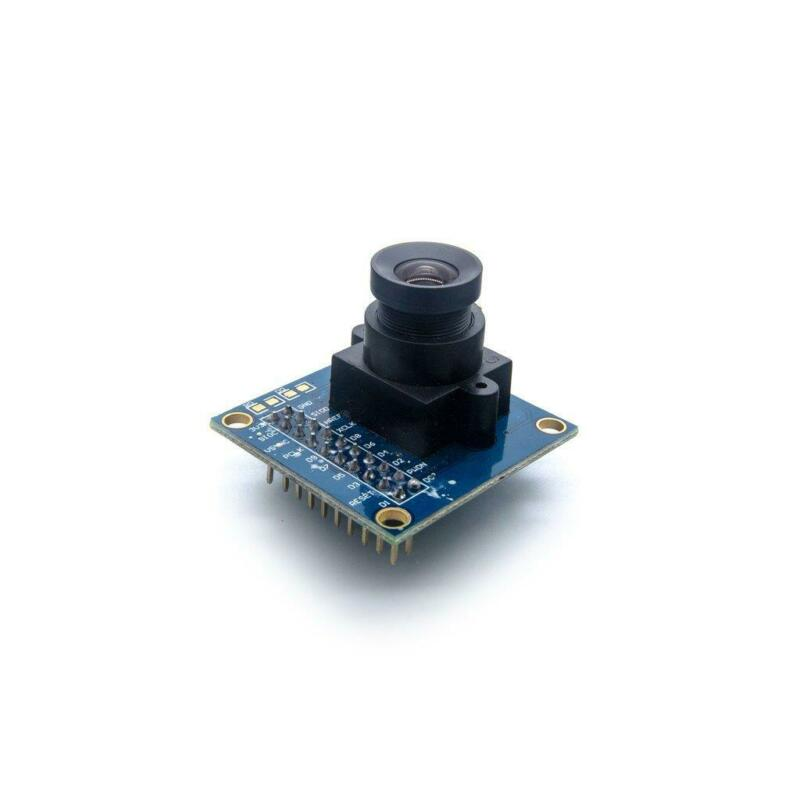 Ov7725 300kp Vga Camera Module 640x480 3.3v Sscb I2c Lens For Arduino