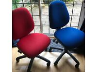 x2 office chairs in v good condition £60 for both!!