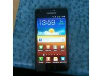 Samsung galaxy s2 unlocked 16 gb mint condition