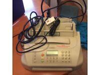 Faxes machine telephone BT make