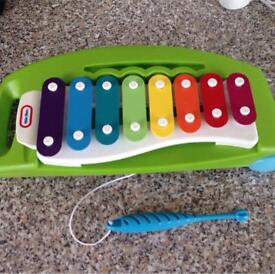 Little tikes toy xylophone good condition