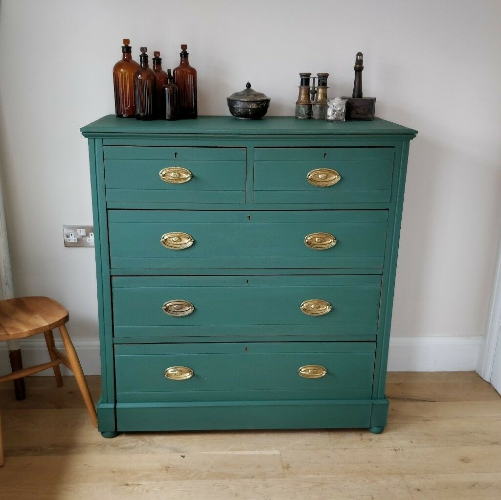 vintage chest of drawers. edwardian drawers. bedroom