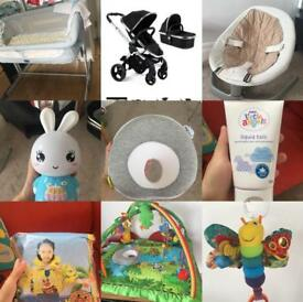 baby stuff! Sell everything!