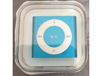 Brand new Apple iPod Shuffle 4th Generation 2GB - Blue