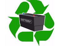 WANTED: Batteries 4 Recycling Car Van Leisure Boat Lorry Battery Around Oxford