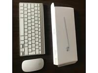 Apple wireless Bluetooth keyboard and magic mouse for iMac