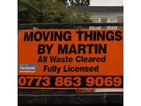 ******Moving Things By Martin Rubbish Clearance And Demolition******