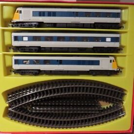 "Hornby ""00"" Gauge Grey/Blue Pullman Set"