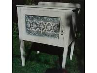 Shabby Chic Side Cabinet