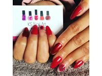 Fully qualified nail technician