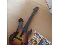 Guitar hero games and guitar for wii. Amazing