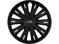 GIGA 15 INCH WHEEL CAPS BLACK NEW