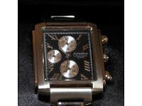 Gents designer Amadeus quartz Chronograph watch