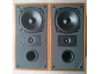 Mission 781 Speakers, Vintage 1989, with stands.