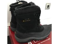 Brand new, men's snow boots, size 11