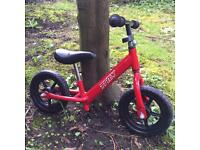 TRAX BALANCE BIKE - BARELY USED! WAS £35 WHEN NEW. FINCHLEY AREA.