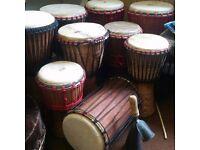 African drumming workshop/Nottingham African drumming cafe/dance/music classes