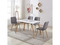 Brand New Modern table and chairs set