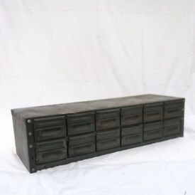 Industrial Metal Filing Drawers