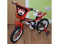 Spike 14 Inch Kids Bike Sport Red