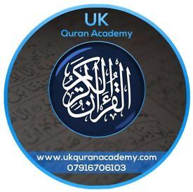 1-2-1 Online & Home Quran Classes Learn Quran with Tajweed Male / Female Quran Teachers