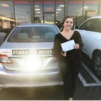 Driving lessons on Sale $$$! Best driving school!