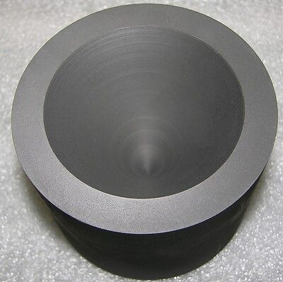 "Cone Mold 3"" Dia x 2.6"" Graphite Glass Blowing Lampwork"
