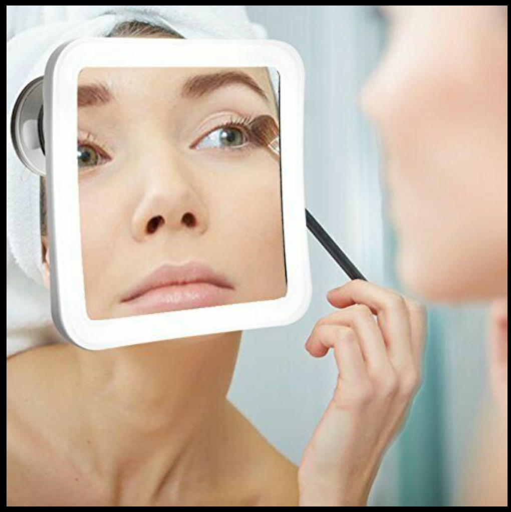 Secura 7X Magnifying Makeup Mirror with Natural Warm and Whi