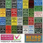 Cafe Pub Wand Reclame Bord - Parking Sign / Parkeer Borden