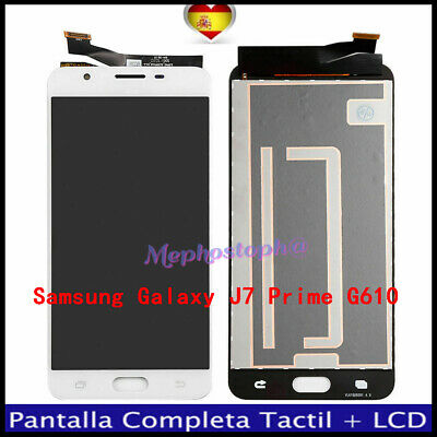 PANTALLA SAMSUNG GALAXY J7 PRIME G610 LCD DISPLAY TACTIL DIGITALIZADOR BLANCO