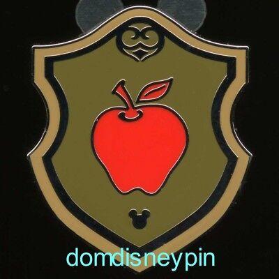 Disney Pin WDW 2018 Hidden Mickey *Icon Crest* Series - Apple (Snow White)! Disney Collection Mickey Icon