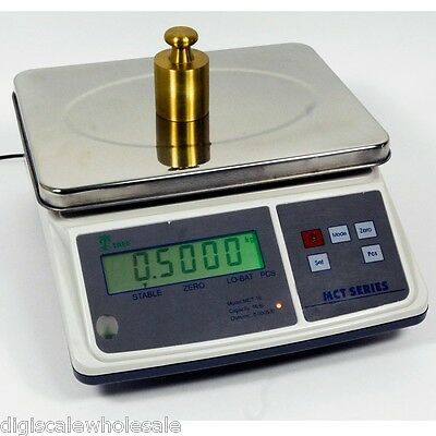Tree Mct 3 Parts Counting Bench Scale 3lb X 0.0001 Pound W 10v Ac Adapter