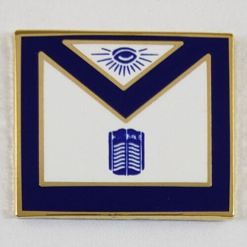 Masonic Officer Apron Chaplain Lapel Pin Mason (SCA) Freemason