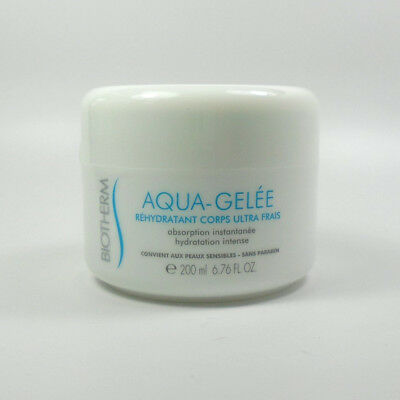 Biotherm AQUA-GELÉE Ultra fresh body replenisher 6.76oz / 200ml *NEW*