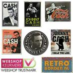 Cafe Pub Wand Reclame Bord - Johnny Cash