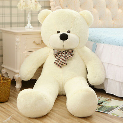 "Giant Teddy Bear Plush Stuffed Big Animal Toys Valentine Kids Birthday Gift 47"""